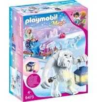Playmobil® 9473 - Magic - Schneetroll mit Schlitten