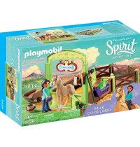 Playmobil® 9479 - Spirit - Riding Free - Pferdebox Pru und Chica Linda
