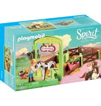 Playmobil® 9480 - Spirit - Riding Free - Pferdebox Abigail und Boomerang