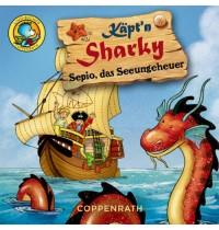 Lino-Bücher Box Nr.53 Käpt n Sharky-Bildergeschichten
