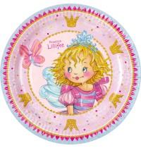Die Spiegelburg - Prinzessin Lillifee - Partyteller Ich bin Prinzessin 8 St.