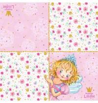 Die Spiegelburg - Prinzessin Lillifee - Servietten Ich bin Prinzessin 20 St.