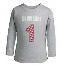 Die Spiegelburg - T-Shirt Ich bin schon 1 BabyGlück Gr. 80/86