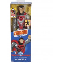 Mattel - DC Justice League Action Basis-Figur, 30 cm Krypton Tech Superman