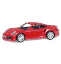 Porsche 911 Turbo, rot