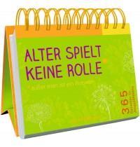 Coppenrath Verlag - Spiralaufstellbuch: Alter spielt keine Rolle* - 365 Gedanken