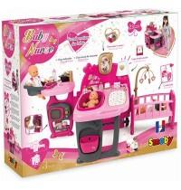 Smoby - Baby Nurse Puppen-Spielcenter