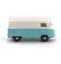 Wiking - VW T1 Kastenwagen - pastelltürkis-cremeweiß