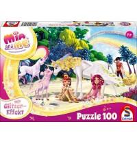 Schmidt Spiele - Mia und me - Am Strand, 100 Teile