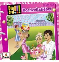Europa - Die drei !!! - Hochzeitsfieber! Folge 53 - Audio-CD
