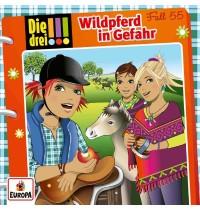 Europa - CD Die drei !!! - Wildpferd in Gefahr - Folge 55 - Audio-CD
