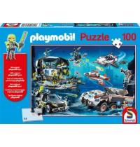Schmidt Spiele - Playmobil - Top Agents, 100 Teile