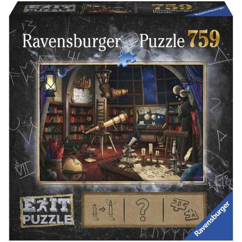 Puzzles & Geduldspiele Ravensburger Exit Puzzle EXIT 1 Sternwarte