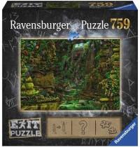 Ravensburger Puzzle - EXIT Tempel in Angkor Wat, 759 Teile