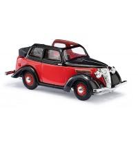 Busch Modellbahnzubehör - Ford Eifel 35 Cabrio Rot