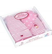 Die Spiegelburg - BabyGlück - Geschenkset Mütze + Nickituch, rosa (one size)