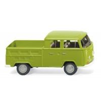 Wiking - VW T2 Doppelkabine - grün