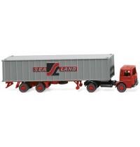 Wiking - Containersattelzug (MAN) Sealand