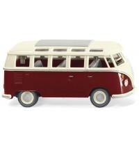 Wiking - VW T1 Sambabus - purpurrot/cremeweiß
