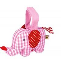 Die Spiegelburg - BabyGlück - Mini-Spieluhr Elefant, rosa