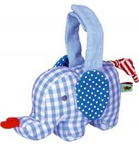 Die Spiegelburg - BabyGlück - Mini-Spieluhr Elefant, hellblau