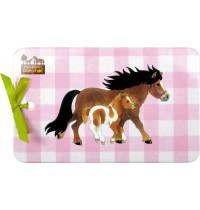 Die Spiegelburg - Mein kleiner Ponyhof - Melamin-Brettchen