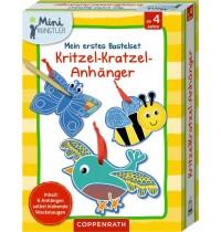 Coppenrath Verlag - Mini-Künstler - Mein erstes Bastelset: Kritzel-Kratzel-Anhänger