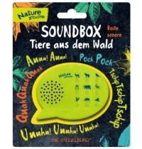 Coppenrath Verlag - Die Spiegelburg -  Nature Zoom - Soundbox -Tiere aus dem Wald