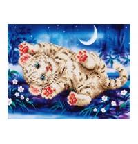 Diamond Dotz Baby Tiger 35,5x Diamond Dotz Baby Tiger 35,5x27,9cm
