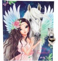 Depesche - Fantasy Model - Tagebuch mit Schloss Motiv 2, Pegasus