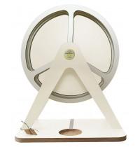 GlückAufRad Weiß passend für Hörspielfiguren mit Magnetfuß