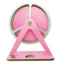 GlückAufRad Pink passend für Hörspielfiguren mit Magnetfuß