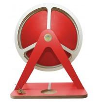 GlückAufRad Rot passend für Hörspielfiguren mit Magnetfuß