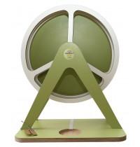GlückAufRad Grün passend für Hörspielfiguren mit Magnetfuß