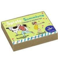 Die Spiegelburg - Bunte Geschenke - Spiele-Sammlung (6 Spiele mit verb. Augen)