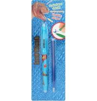 Depesche - Dino World -  Radierbarer Gelstift mit Ersatzmine