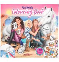Depesche - Miss Melody  - Malbuch mit Tierkindern