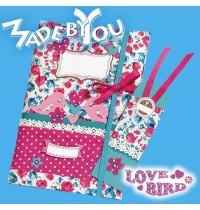 Busch - Made by you - Notizbuch Love Bird selbst gestalten