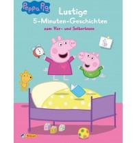 Nelson Verlag - Peppa - Lustige 5-Minuten-Geschichten