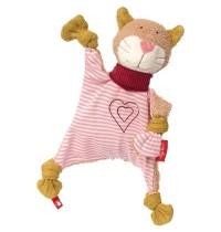 sigikid - Urban Baby Edition - Schnuffeltuch Katze