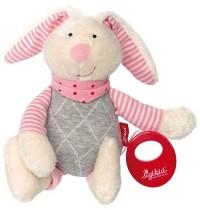sigikid - Urban Baby Edition - Spieluhr Hase rosa