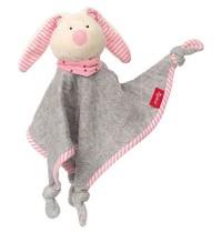 sigikid - Urban Baby Edition - Schnuffeltuch Hase rosa