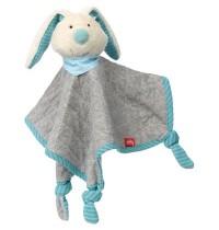 sigikid - Urban Baby Edition - Schnuffeltuch Hase mint