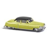 Busch Modellbahnzubehör - Cadillac 52 Coupé, zweifarbig Gelb