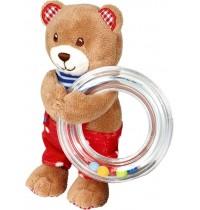 Die Spiegelburg - Baby Glück - Ringrassel Teddy