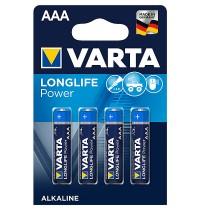"VARTA Micro 4B """"AAA"""" LONGLIFE Power - Blisterverpackung, 4 Stück"