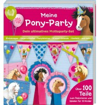 Coppenrath Verlag - Aktivbuch Meine Pony-Party - Mottoparty-Set (Ponyhof)