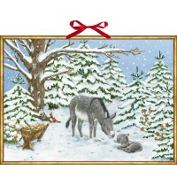 Coppenrath Verlag - Weihnachtsesel, Wand-Adventskalender