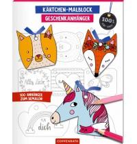 Coppenrath Verlag - Kärtchen-Malblock Geschenkanhänger (100% selbst gemacht)