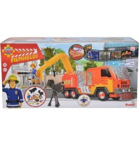 Simba - Feuerwehrmann Sam - Sam Hollywood Jupiter mit 1 Figur